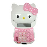 SSLAND Big Head Kitty Calculator [XD-1101A] - Pink (V) - Kalkulator Office / Pocket